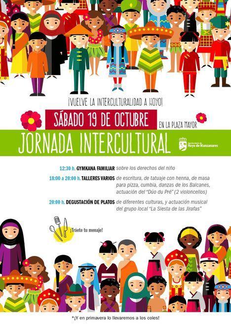 Jornada Intercultural durante todo el sábado en la Plaza Mayor