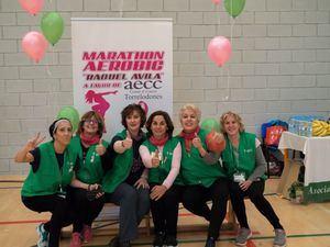 Torrelodones celebra su maratón de aeróbic en memoria de Raquel Ávila