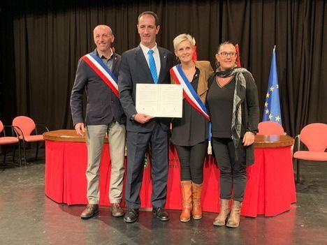 Alpedrete y Lançon-Provence firman una carta de amistad