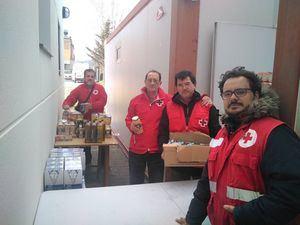 Cruz Roja repartirá en noviembre dos millones de kilos de alimentos