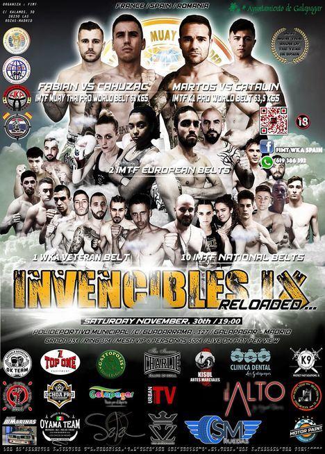 Galapagar acogerá el evento 'Invencibles' de muay thai y K1
