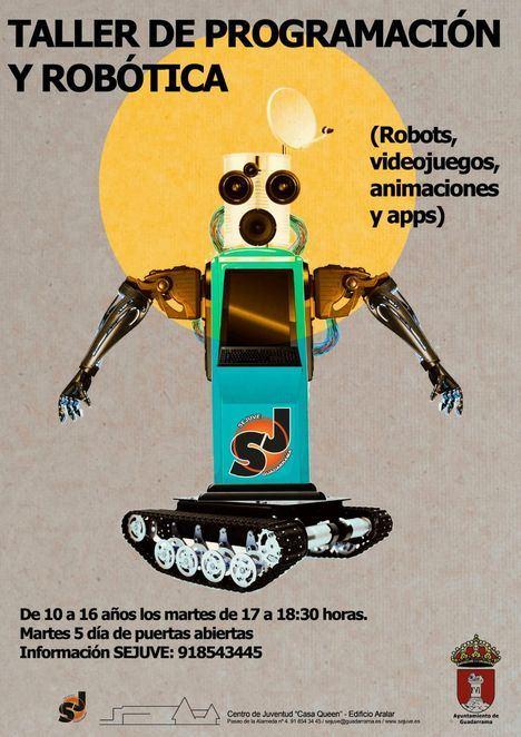 Puertas abiertas para conocer el nuevo Taller de Robótica