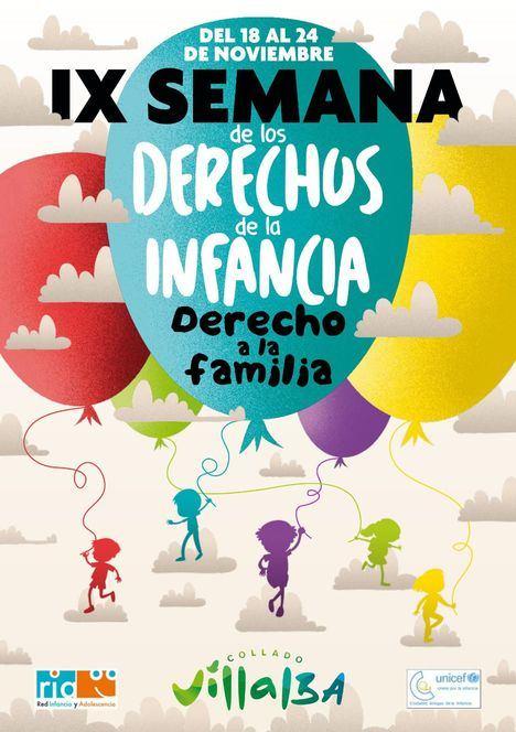 Collado Villalba celebra la IX Semana de los Derechos de la Infancia