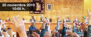 Los escolares presentan sus propuestas en el VI Pleno infantil