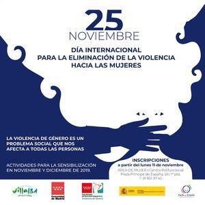Concienciación e información en torno al 25 de noviembre