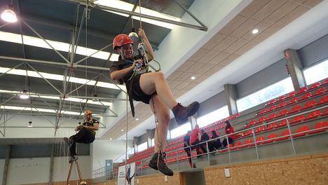 Torrelodones estrena su circuito de espeleología con un campeonato regional