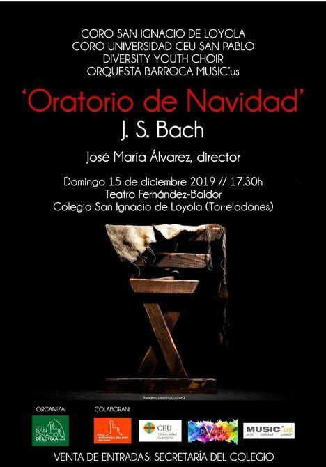 El 'Oratorio de Navidad' de Bach, en el Colegio San Ignacio