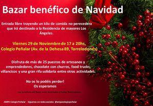 Bazar benéfico de Navidad en el Colegio Peñalar de Torrelodones