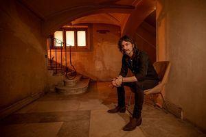 El cantautor Quique González, este viernes en el Auditorio Joaquín Rodrigo