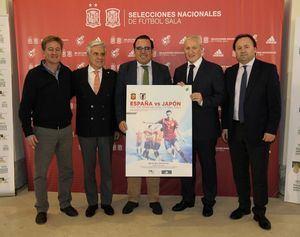 Boadilla acoge un amistoso de fútbol sala España-Japón