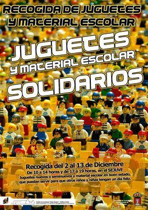 Campaña solidaria de recogida de juguetes en el Sejuve