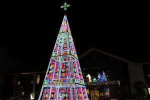 Con el encendido de las luces comienzan las actividades de Navidad