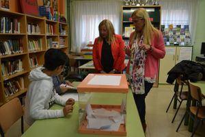 Los escolares de Collado Villalba eligen a sus representantes