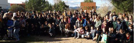 Homenaje escolar a la Constitución Española en su 41 aniversario