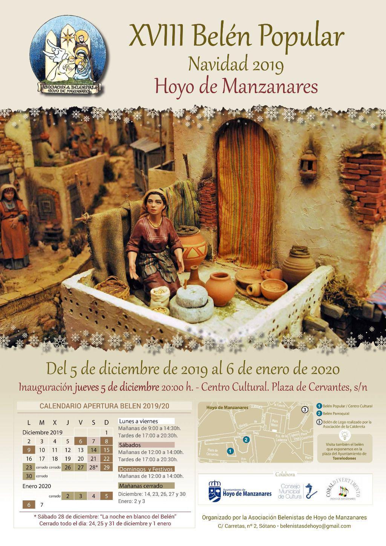 Dos Belenes Uno Tradicional Y Otro De Playmobil Para La Navidad Hoyense Masvive Noticias Las Rozas Torrelodones Y Sierra Noroeste Madrid