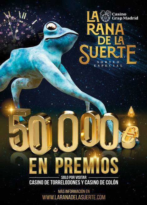 El Casino Gran Madrid sortea tres grandes lotes de regalos durante la Navidad
