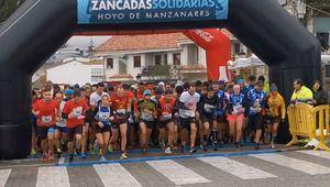 Las Zancadas Solidarias de Hoyo recaudan 6.500 euros