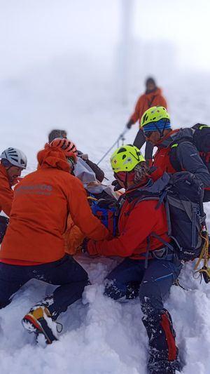 El GERA recomienda extremar la precaución en la montaña