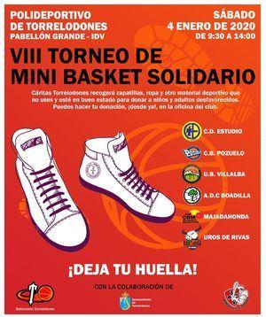VIII Torneo Mini Basket 'Zapatillas solidarias'