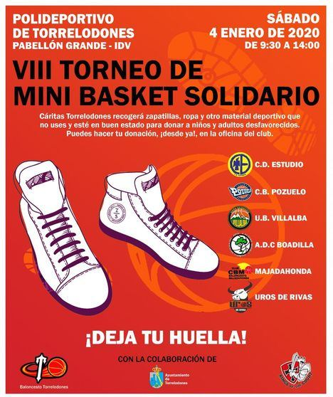 VIII Torneo Mini Basket 'Zapatillas solidarias'