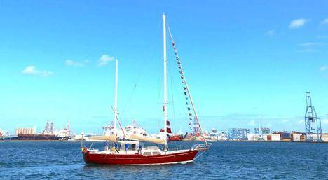 Tres alumnos del Aula de Humanidades, en el viaje que recuerda la aventura de Magallanes-Elcano