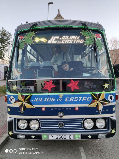 Julián de Castro, en las Cabalgatas de Galapagar y Villanueva del Pardillo