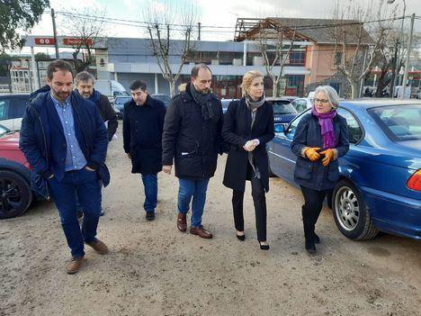 """Los socialistas piden """"celeridad"""" con el aparcamiento de la Estación"""
