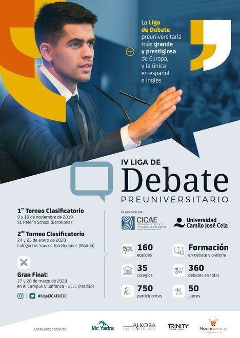 Los Sauces acoge el 2º Torneo de la Liga de Debate Preuniversitario