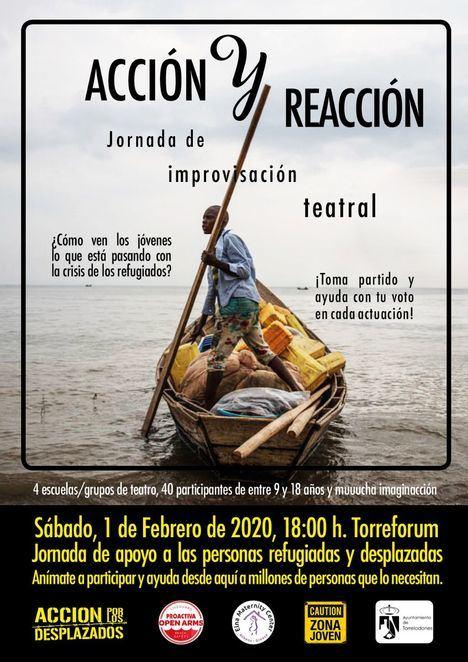 Jornada de improvisación teatral sobre los refugiados