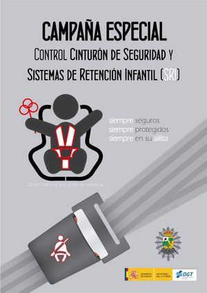 Campaña de vigilancia sobre el uso del cinturón de seguridad