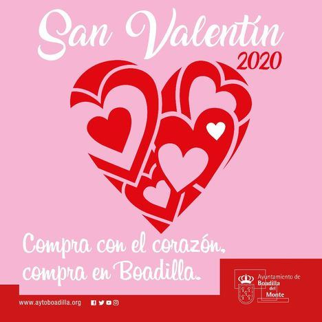 Campaña de promoción de comercio local por San Valentín