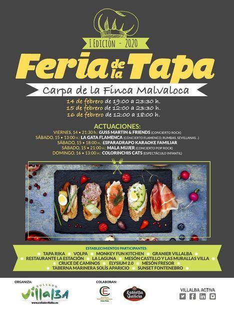 La Feria de la Tapa se reúne en un fin de semana en Malvaloca