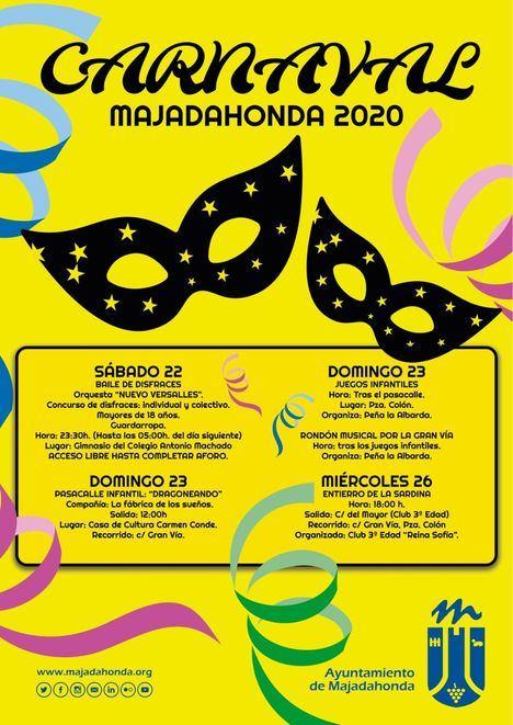 Actividades para todos en el Carnaval de Majadahonda