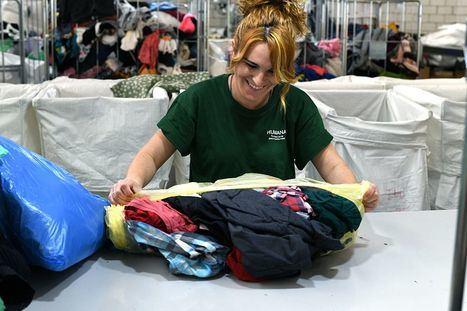 Humana recuperó 740 toneladas de textil en la zona Oeste durante 2019