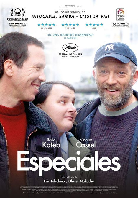 APASCOVI, protagonista del preestreno de la película francesa 'Especiales'