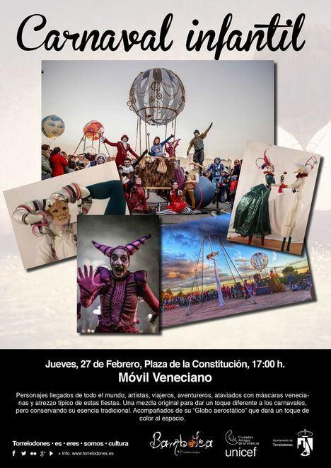 La fantasía del Carnaval llega a la plaza de la Constitución