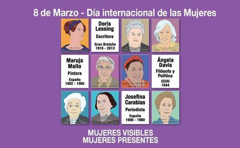 Mujeres visibles y reconocibles para celebrar el 8 de marzo
