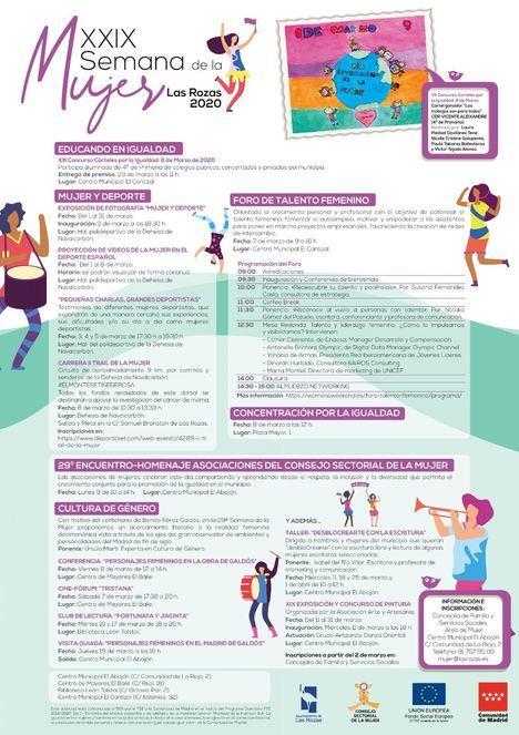 Arrancan las actividades de la XXIX Semana de la Mujer