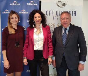 El Club Olympia cierra un acuerdo de patrocinio con Alibérico