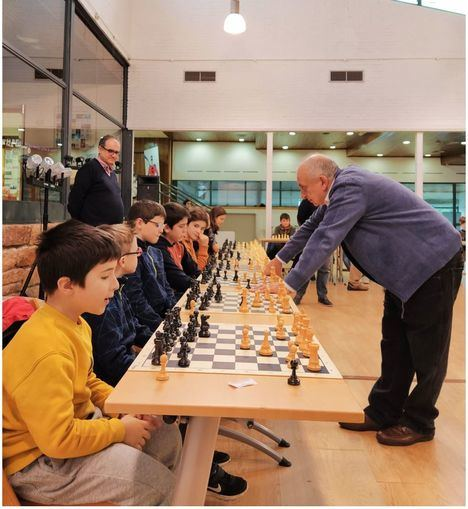 El ajedrez gana peso en Torrelodones