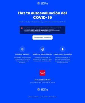 La Comunidad lanza una web y una aplicación sobre el coronavirus