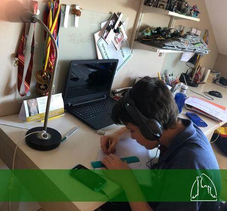 El Colegio San Ignacio de Loyola de Torrelodones continúa virtualmente sus clases