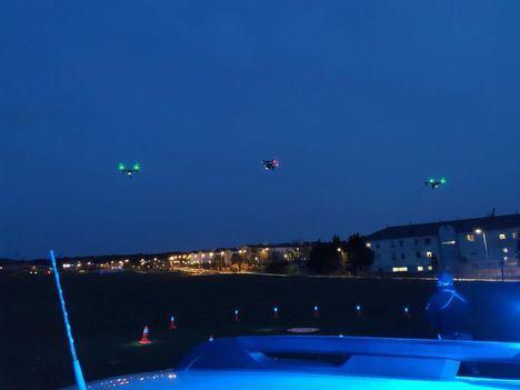 El Ayuntamiento utiliza drones para el seguimiento del estado de alarma