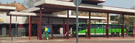 Más de 70 trabajadores trabajan para limpiar y desinfectar el municipio
