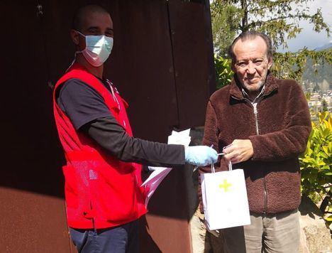 Cruz Roja anima a los vecinos a seguir escribiendo a las personas mayores