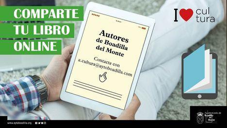 La web municipal ofrece un espacio a los escritores para compartir sus libros