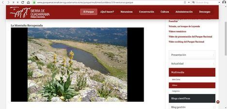 La Comunidad de Madrid abre 'Una ventana al Parque Nacional'