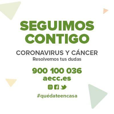 Profesionales de la AECC Madrid continúan ayudando a pacientes y familiares