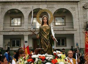 Canceladas las fiestas patronales de Alpedrete en honor de Santa Quiteria