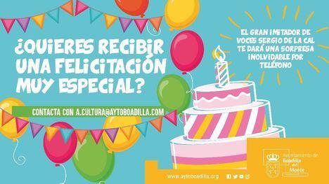 Boadilla ofrece 'sorpresas telefónicas' para felicitar cumpleaños